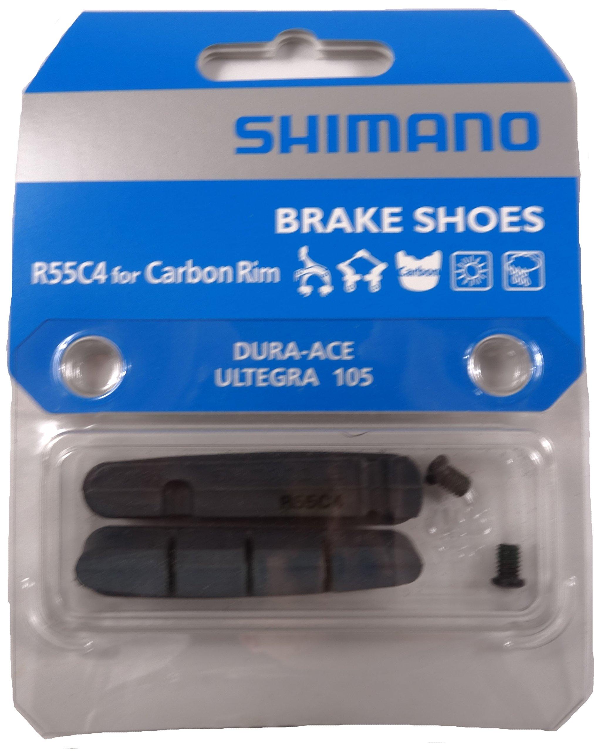 Shimano R55C4-1 Road Brake Pads for Carbon Rims Pair
