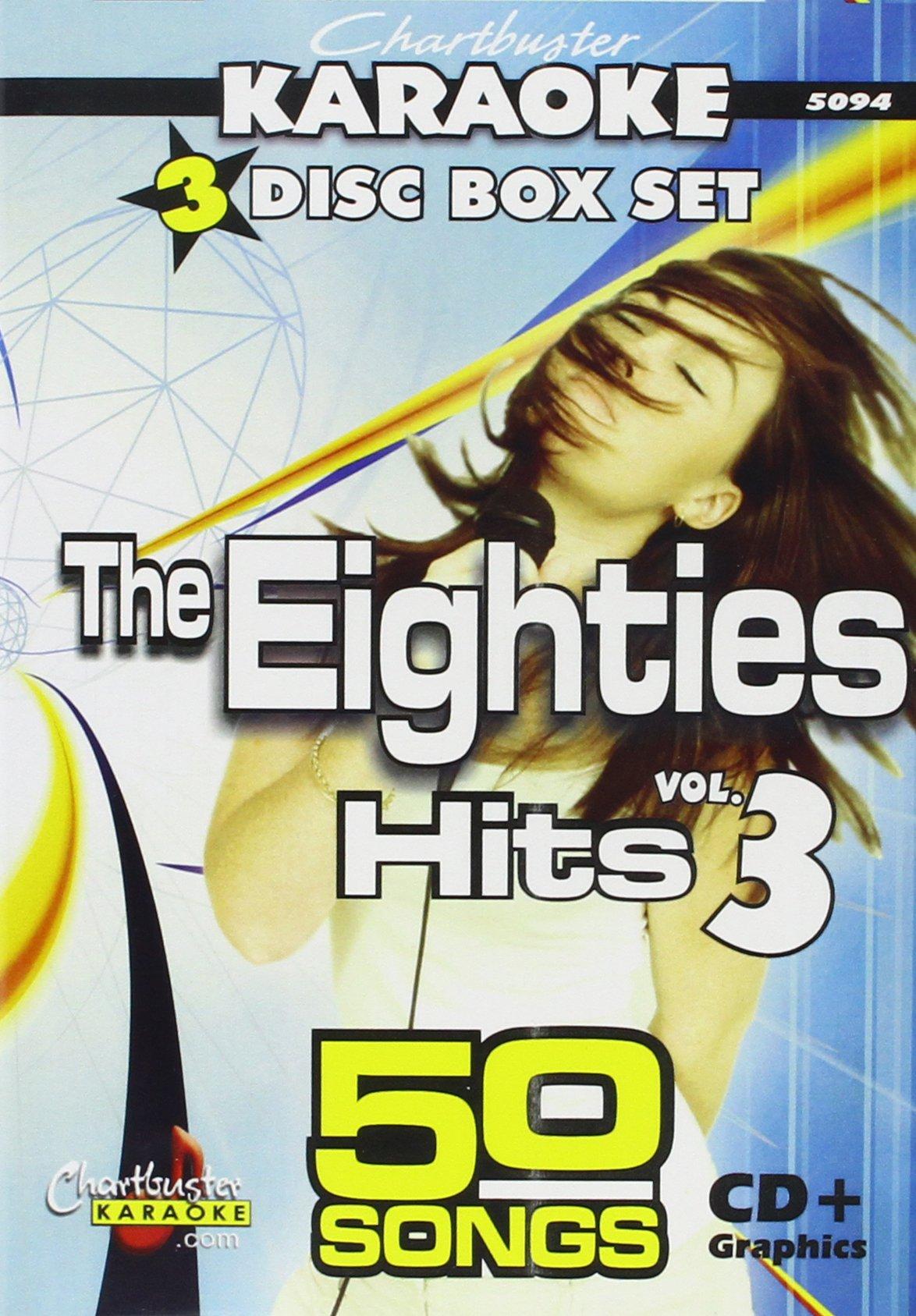 Karaoke: 80's Pop Hits 3 by Chartbuster