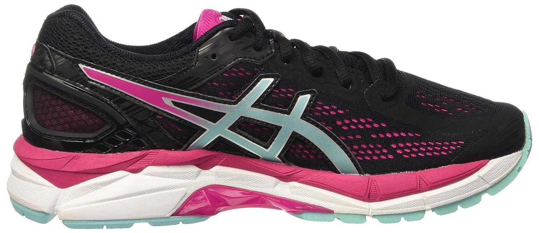 Asics Gel-Pursue 3, Chaussures de Running Femme, Multicolore (Black/Aruba Blue/Sport Pink), 37.5 EU