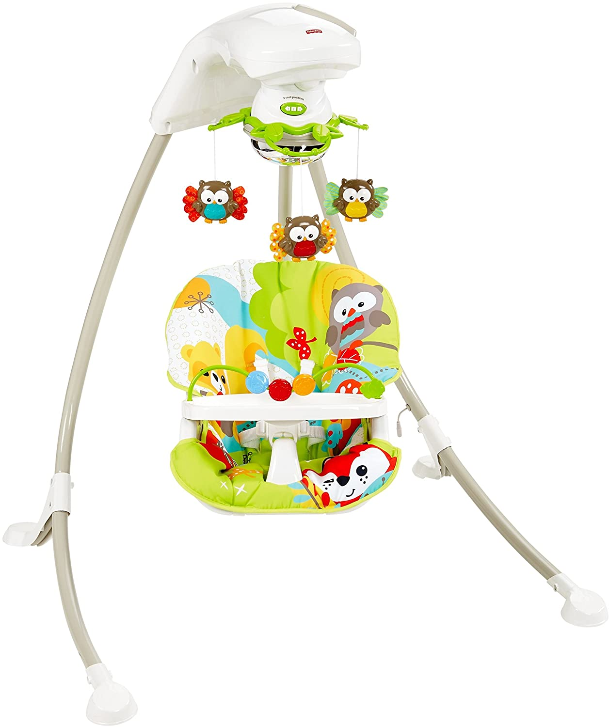 Fisher-Price Woodland Friends Cradle 'N Swing CHM85