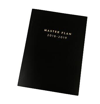 Calendrier Definition.Master Plan 17 Mois 2018 2019 Mensuelle Et Hebdomadaire