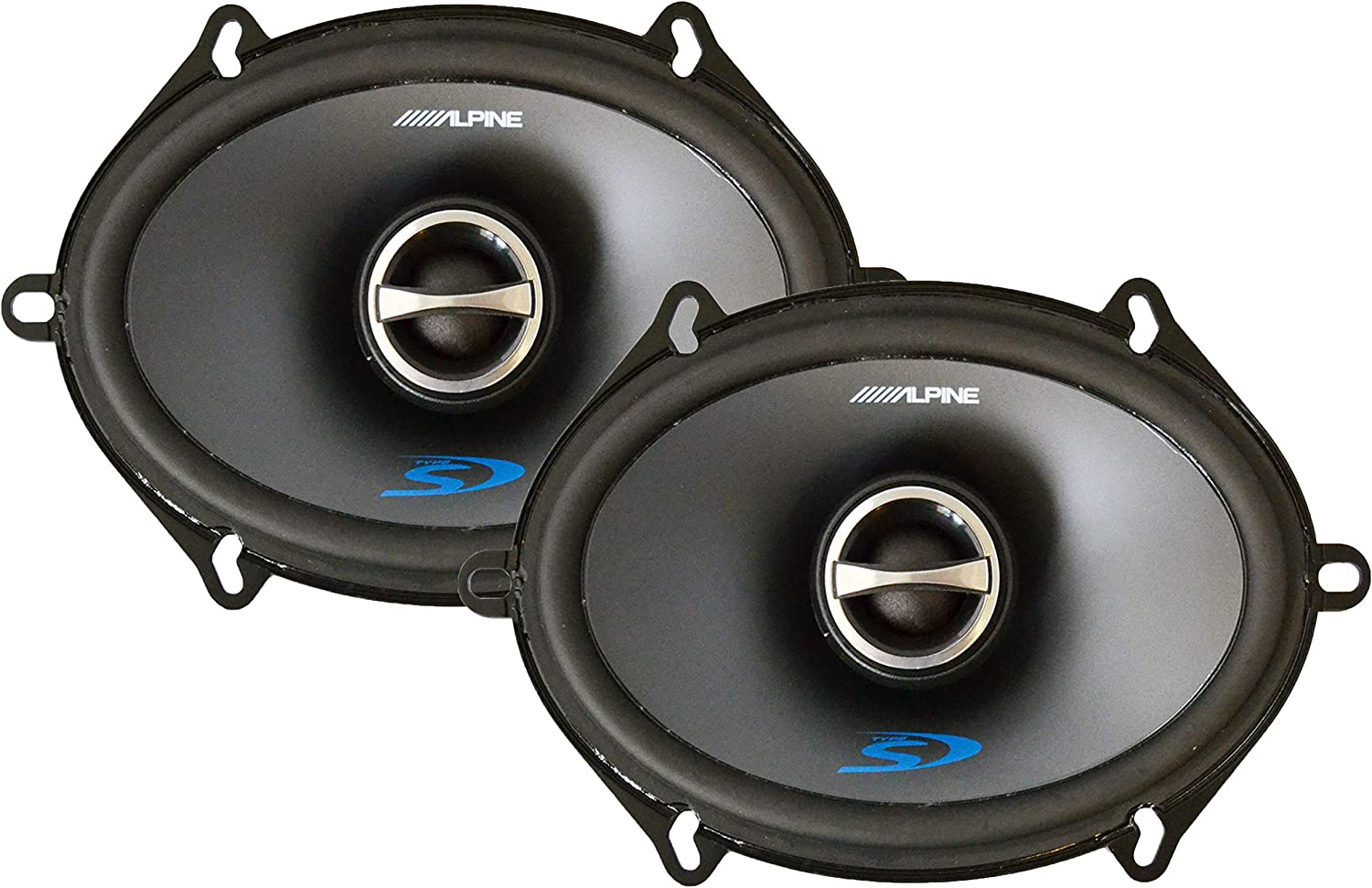 "Alpine 5"" x 7"" 2-Way Type-S Series Coaxial Car Speaker"