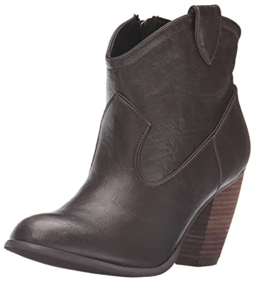Not Rated Women's Geronimo Ankle Bootie, Taupe, ...