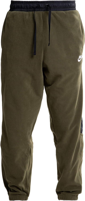 Nike Sportswear Mens Fleece Sweatpant Olive//Black 929126-395