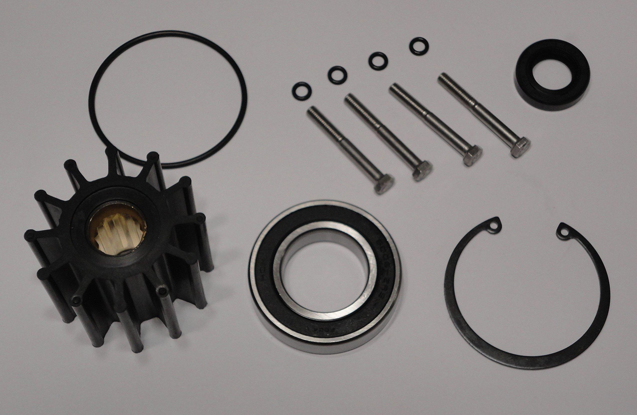 StayCoolPumps 2005 & Newer Volvo Penta Gas Sterndrive Raw Water Pump Repair Rebuild Kit Crankshaft Mounted