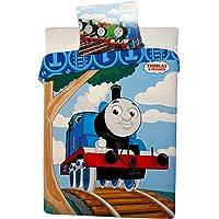 Thomas & Friend Duvet Cover and Pillowcase Set,Kids Duvet Cover,135X 100cm