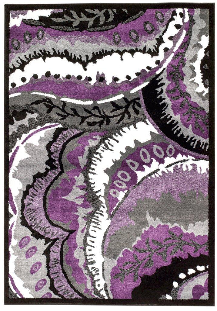 Amazon.com: 01804 Purple 2u00270x3u00274 Area Rug Carpet Large New: Kitchen U0026 Dining