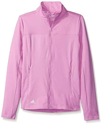 b5912bdeb Buy adidas Golf Girls Advance Range Wear FZ Jacket, Wild Orchid ...