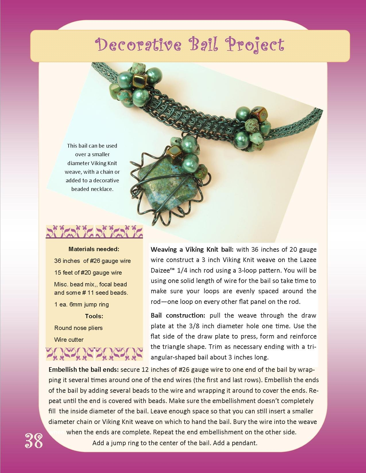 Lazee Daizee Guide to Viking Knit book: Stephanie Eddy & Michael ...