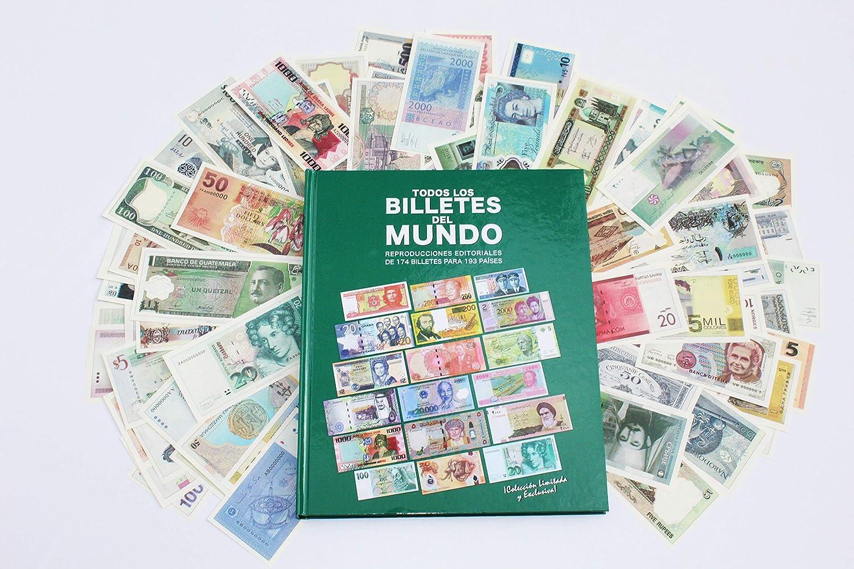 Colección todos los Billetes del Mundo. 174 los billetes. 193 naciones reconocidas por la ONU. El mejor regalo de Navidad para los coleccionistas. Billetes de España: Amazon.es: Juguetes y juegos