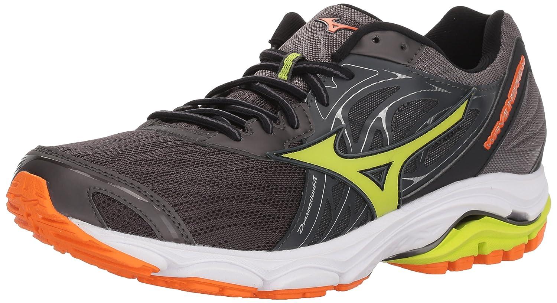 Mizuno Men's Wave Inspire 14 Running Shoe B071RRJ2X3 12 M US|Magnet/Lime Pun