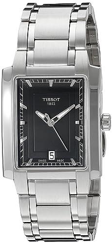 Tissot Womens T061.310.11.05.100 Black Dial Watch
