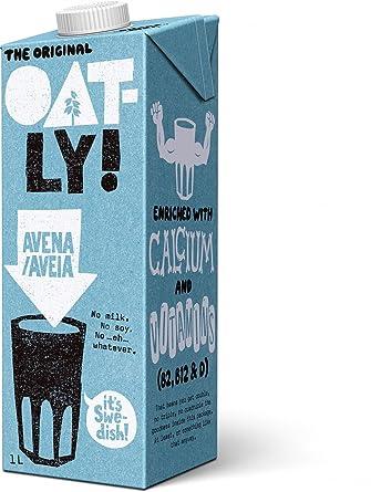Oatly Bebida de Avena con Calcio - 1000 ml - [Pack de 2 ...