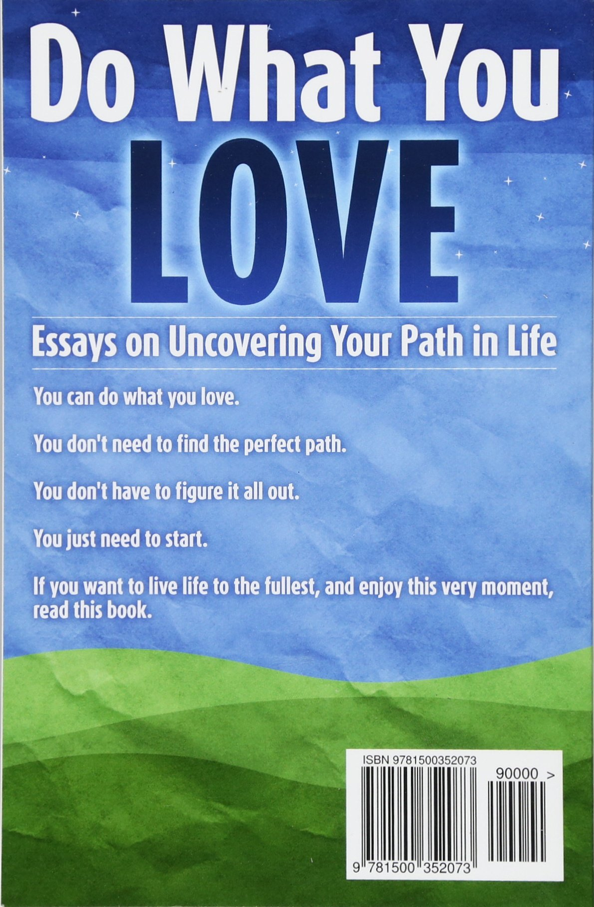 Essay On Healthy Eating Habits Do What You Love Essays On Uncovering Your Path In Life Henri Junttila   Amazoncom Books Thesis Statements For Essays also Cause And Effect Essay Thesis Do What You Love Essays On Uncovering Your Path In Life Henri  Example Of An Essay Paper