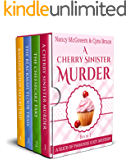 A Slice of Paradise Cozy Mystery BOX SET, Books 1-4: A Culinary Cozy Mystery Series With Delicious Recipes