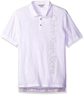 ead779a1059ae Calvin Klein Jeans Men s CKJ Logo Polo Shirt