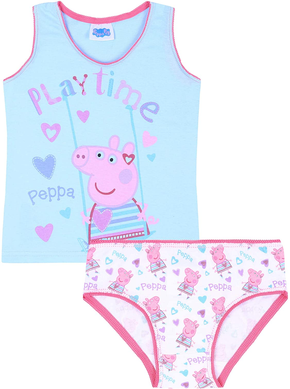 Maglietta Blu Mutandine Peppa Pig