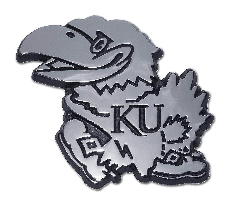 Emblem Elektroplate University of Kansas Jayhawk