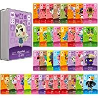 36 Pcs ACNH NFC Game Cards Tags for Amiibo New Horizons, Compatible with Nintendo Switch/Lite/Wii U/New 3DS with Case