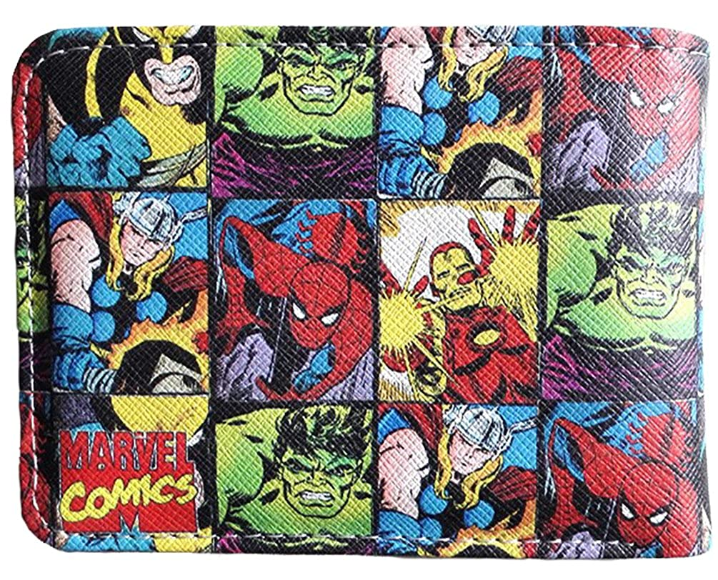 Marvel Comics Multi Characters Bi-Fold Wallet