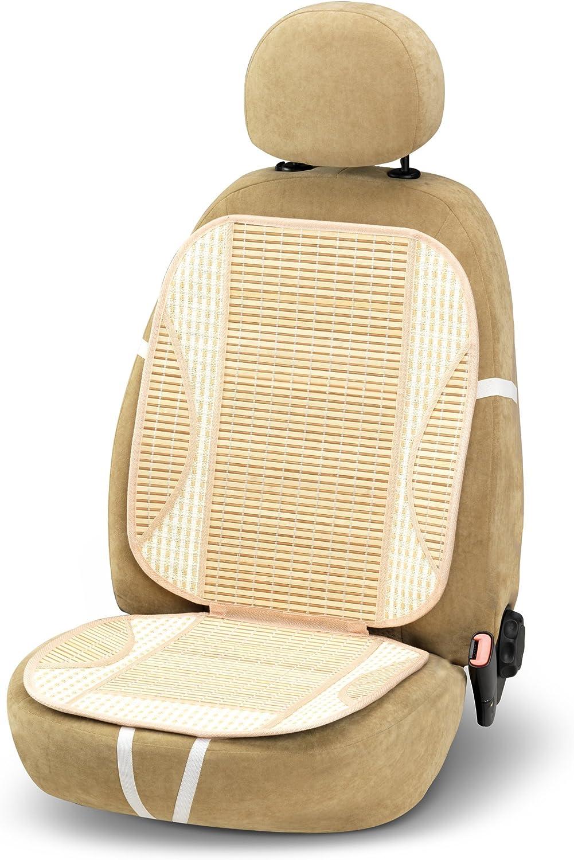 Coprisedile Schienale estivo Bambu/' con supporto lombare Sedile Auto Universale