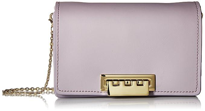 362571360 Amazon.com: ZAC Zac Posen Earthette Accordion Crossbody Violet: Clothing