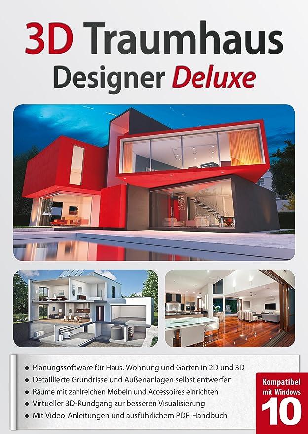 3D Traumhaus Designer Deluxe   Ideal Für Die Architektur, Haus, Wohnplaner,  Garten   Für Windows 10 8 7: Amazon.de: Software
