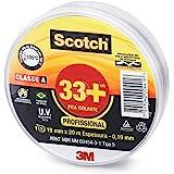 3M Scotch, Fita Isolante, 33 +, 19mm x 20m