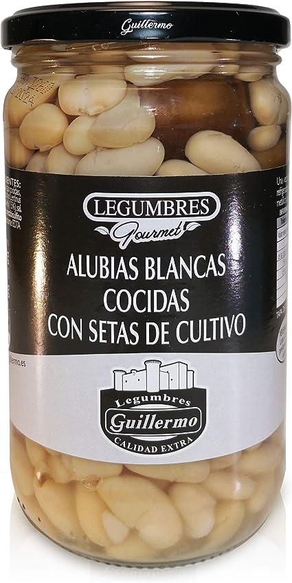 Guillermo Alubias Blancas Cocidas con Setas de Cultivo ...