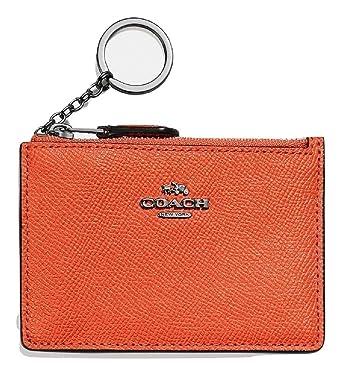 Coach F12186 SVN2C Portefeuilles Femme Orange TGUNI  Amazon.fr ... 6f22bfa0154