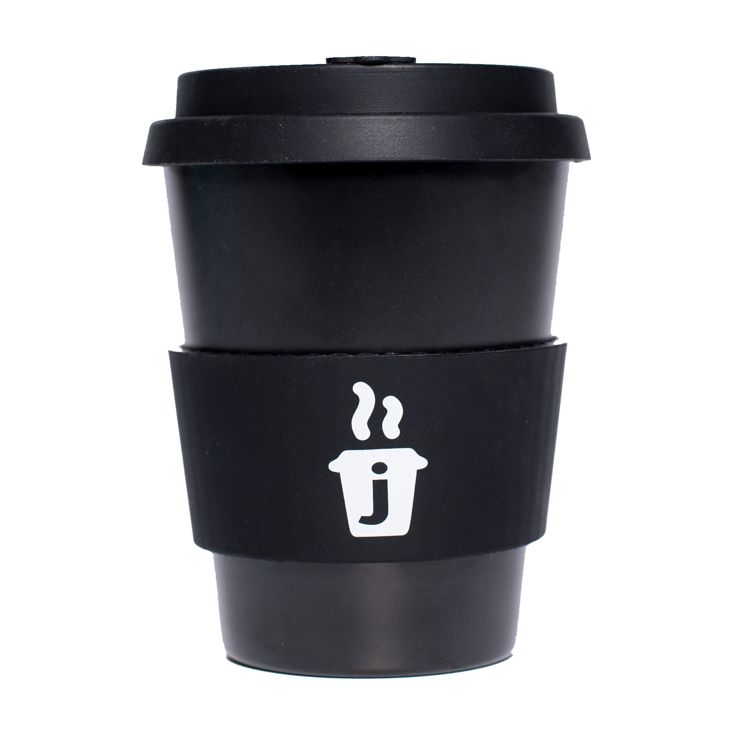 Joe Cup Premium Organic Reusable Bamboo Coffee Cup, Coffee Mug with Quick Seal Spill Stopper