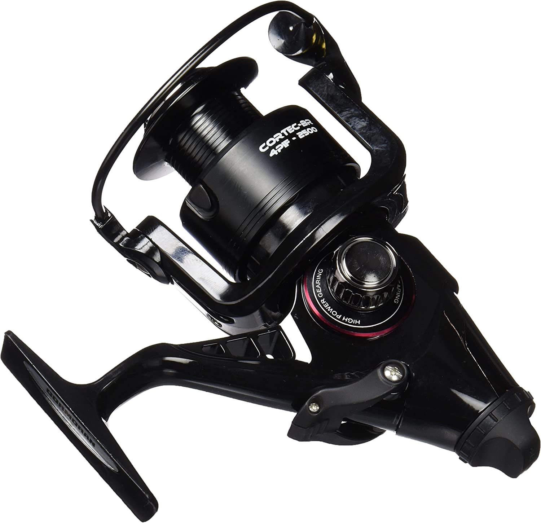 Cormoran Cortec BR 4 PIF Carrete de pesca color negro//plata