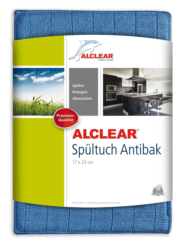 ALCLEAR 950017 antibakterielles Ultra-Microfaser Spültuch Antibak ...