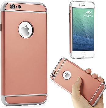 Urcover Funda Protectora iPhone 6 / 6s Cover Carcasa para Móvil PC Policarbonato Case Marco Bordes Estuche Cubierta Protector para Apple iPhone 6 / 6s 4,7