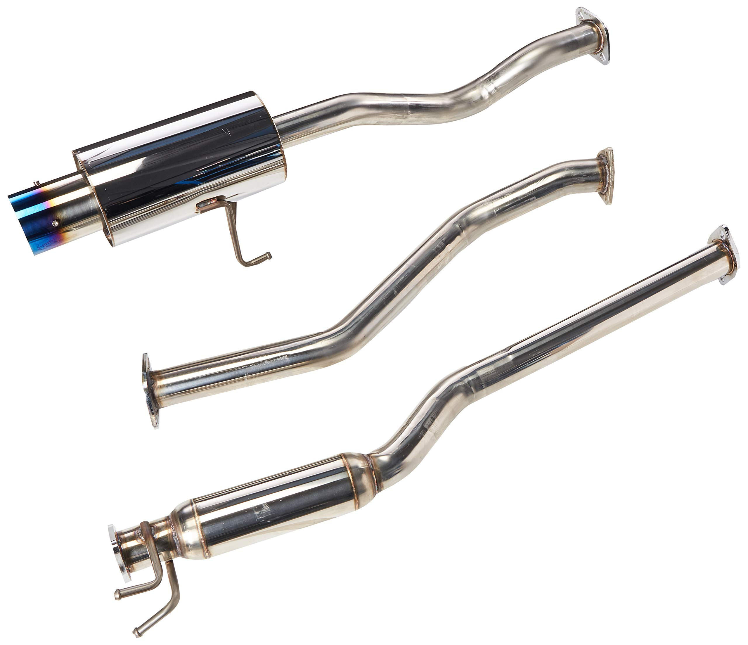 DNA Motoring HDSHC01EX Stainless Steel Exhaust Header Manifold HDS-HC01EX