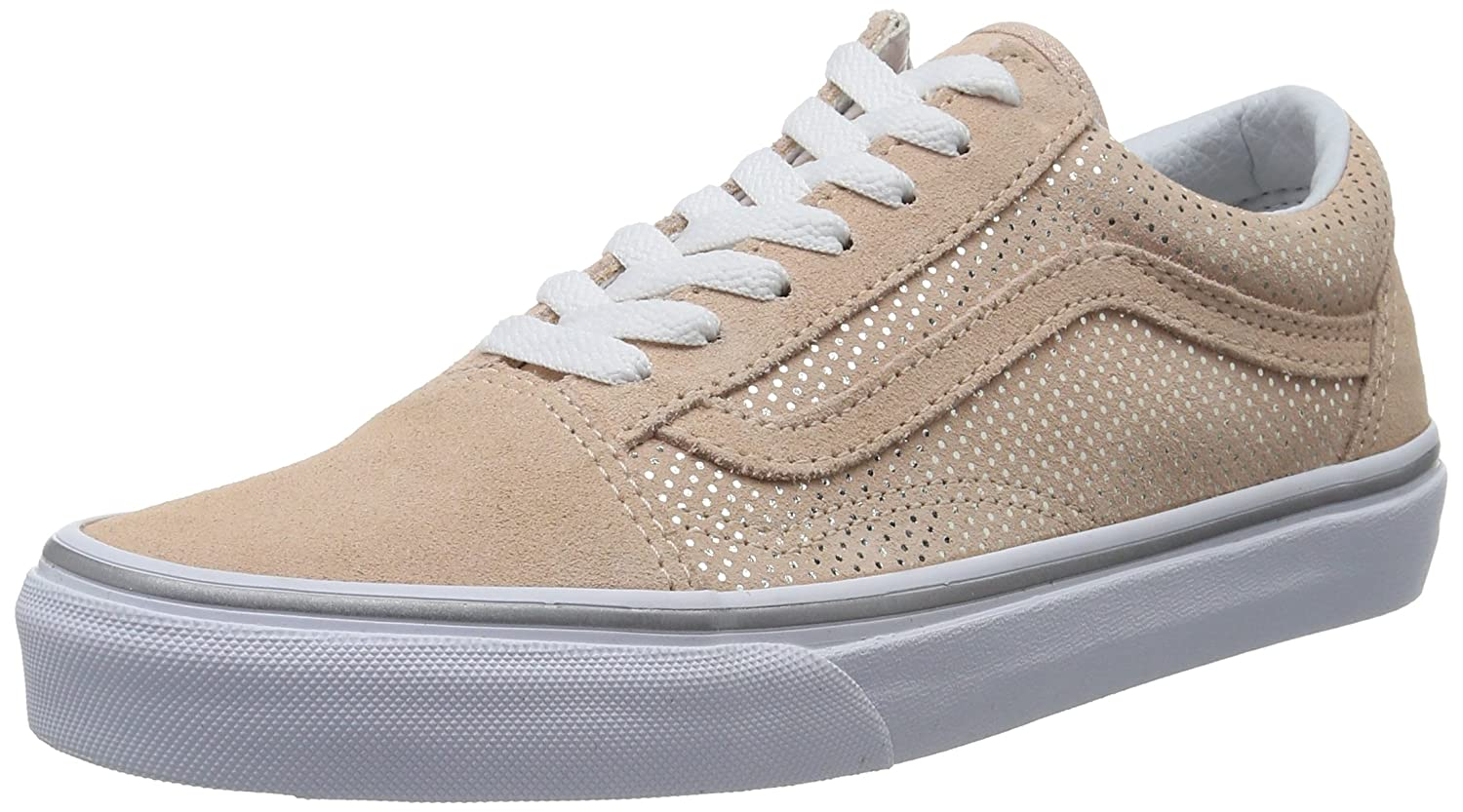 Vans Damen UA Old Skool Sneaker  345 EU|Pink (Metallic Dots Rose/Spanish Villa)