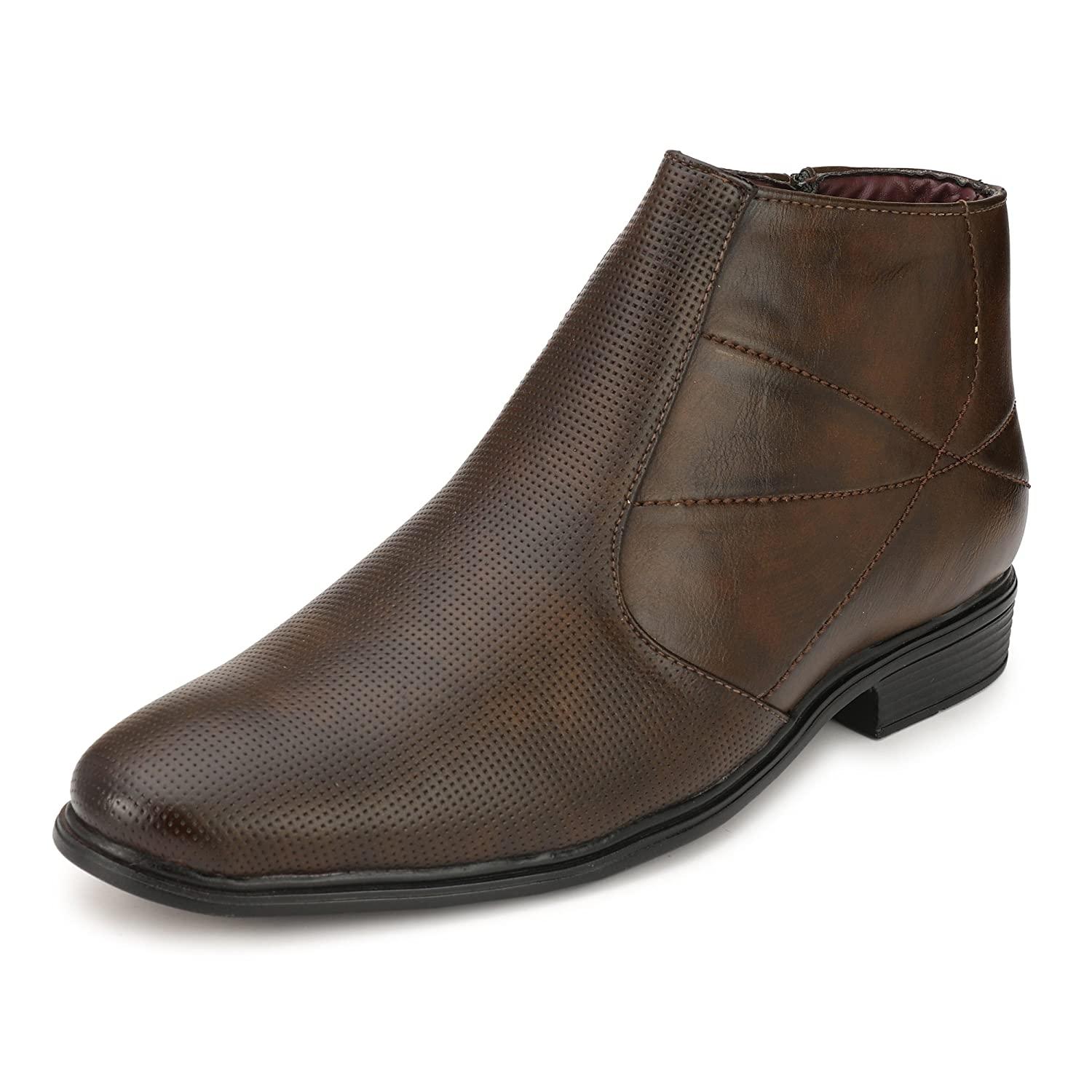 Buy KNOOS Mens high Ankle Formal Boots