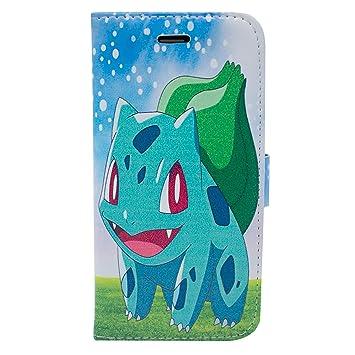7435a3ef1d iPhone 6/6s Pokemon PU Leather Flip Wallet Case: Amazon.co.uk: Electronics