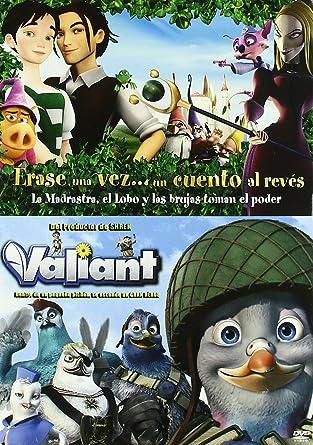 Pack Erase Una Vez ... + Valiant [DVD]: Amazon.es: Varios, Gary Chapman, Yvette Kaplan, Paul Bolger: Cine y Series TV