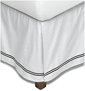 Cal King Bed Skirt.Amazon Com Pinzon 400 Thread Count 100 Cotton Sateen Hotel