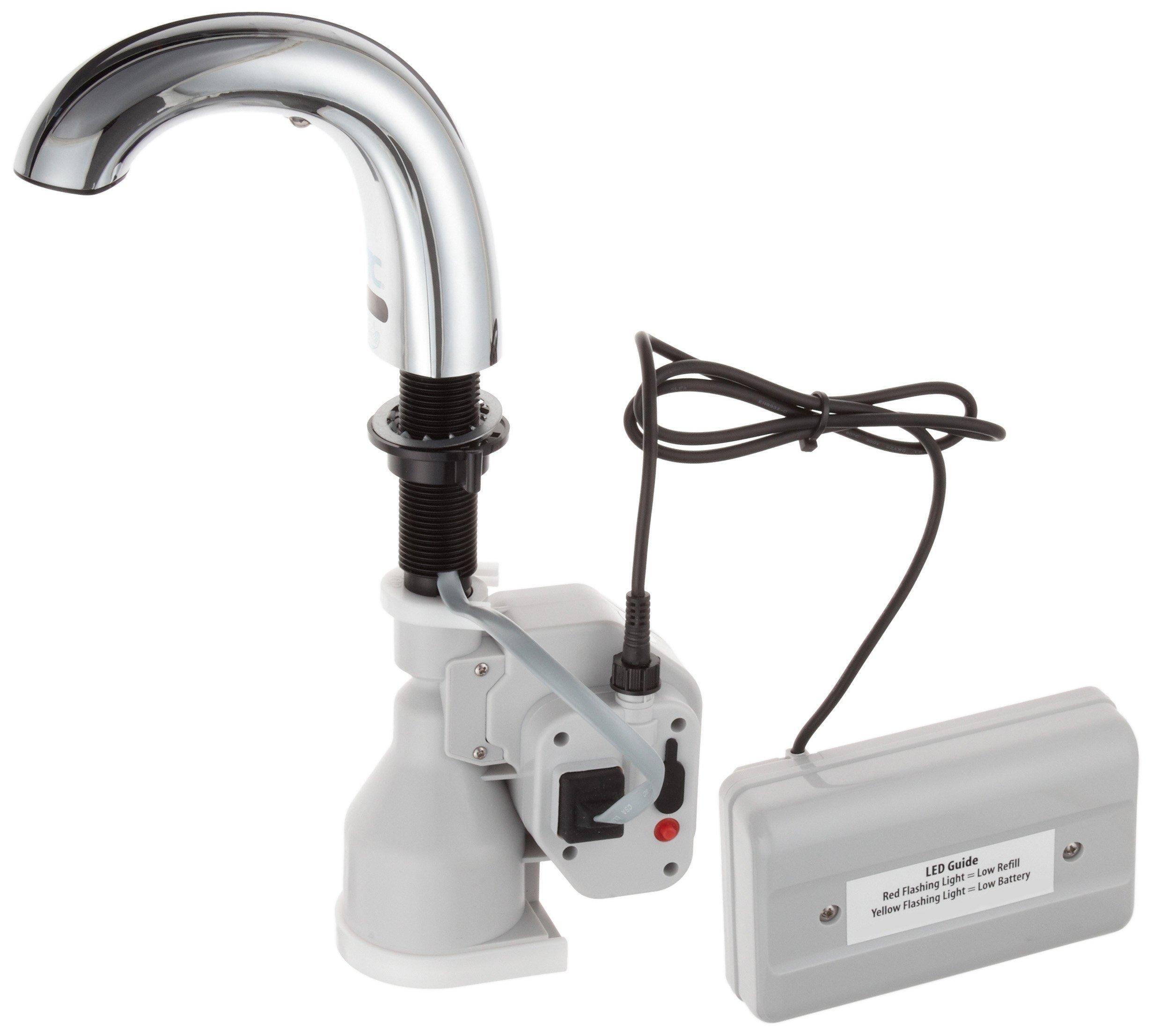 Rubbermaid Commercial One-Shot Foam Soap Dispenser, Chrome, FG4870465