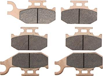 Can-Am Outlander Max 800 LTD Brake Pads for Front and Rear fits 2006