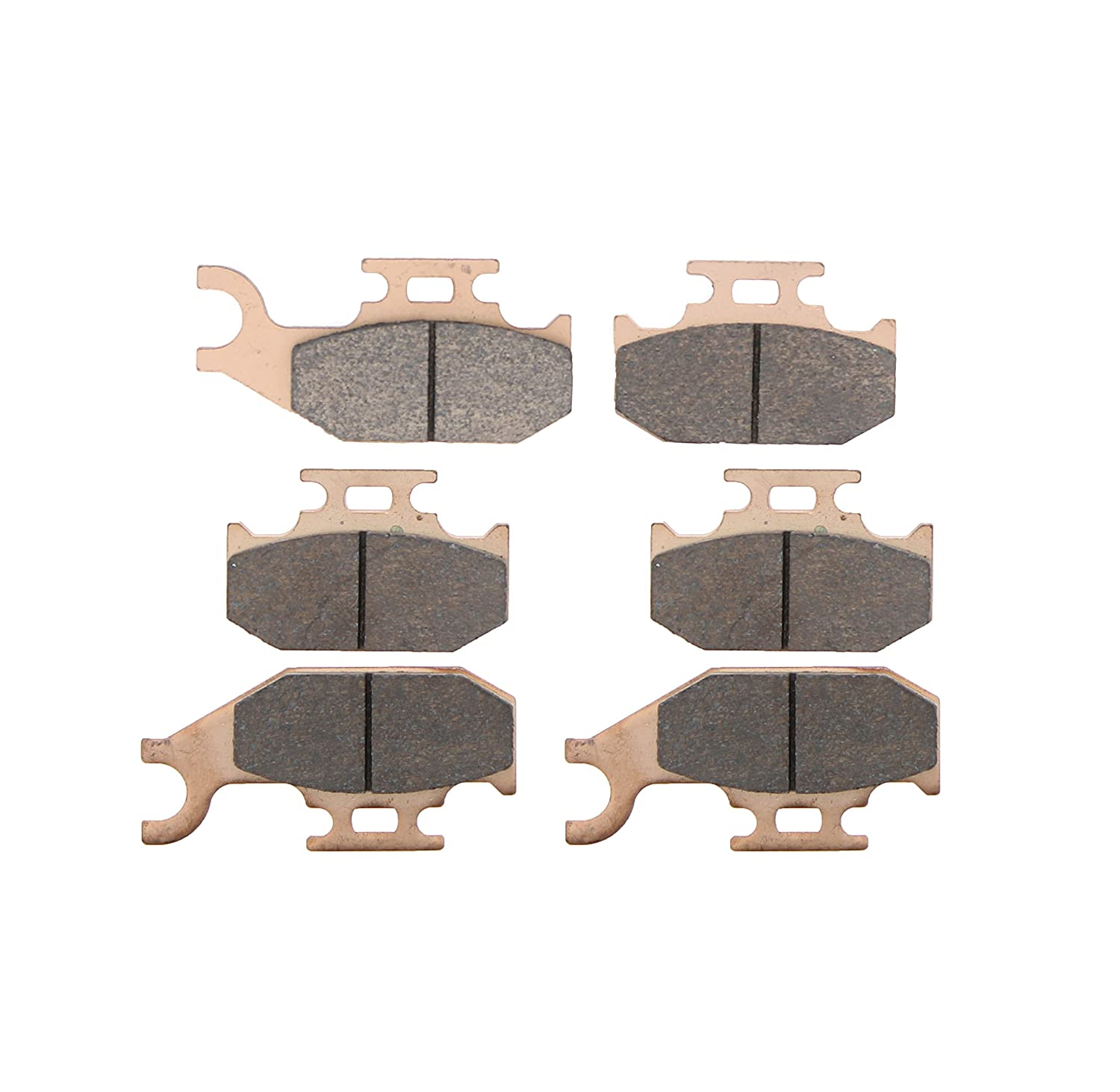 2007 2008 2009 fits Can-Am Outlander 650 Front and Rear Brake Pads Severe Duty