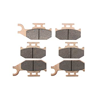 Can-Am Outlander Max 650 XT 4X4 Brake Pads Front and Rear fits 2007 2008 2009