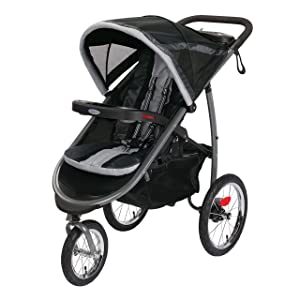Graco FastAction Fold Jogging Stroller, Gotham
