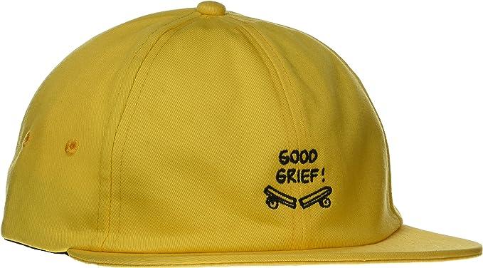 Vans_Apparel Vans X Jockey Gorra de béisbol, Negro (Charlie Brown ...