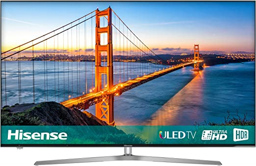 Hisense H55u7auk 55 Pulgadas 4k Ultra HD uled Smart TV con TDT y HDR Juego: Amazon.es: Electrónica