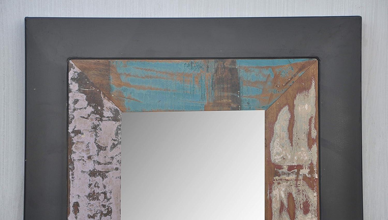 Handgefertigt wieder massiv rustikal Brennen Holz Metall Rahmen ...