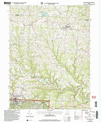 Woodsfield Ohio Map.Amazon Com Yellowmaps Woodsfield Oh Topo Map 1 24000 Scale 7 5 X