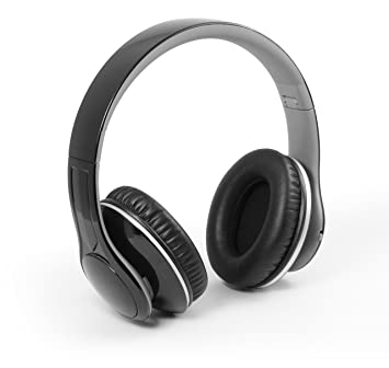 Technaxx MusicMan BT-X15 - Auriculares inalámbricos (Bluetooth 3.0, Reproductor de MP3 Incorporado, Radio FM, admite Tarjeta MicroSD) Negro: Amazon.es: ...